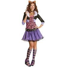 Monster Halloween Costumes Girls Ladies Halloween Horror Fancy Dress Costume