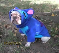 Halloween Costumes Lilo Stitch French Bulldog Boston Terrier Pug Dog Froodies Hoodies Halloween