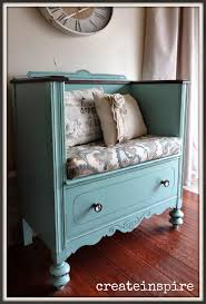 10 diy upcycled crafts dresser bench and repurposing
