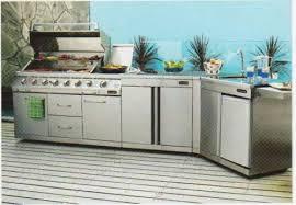 Stainless Steel Outdoor Bbq Kitchen Home Design Ideas - Outdoor bbq kitchen cabinets