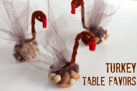 turkey table favors for your thanksgiving table make and takes