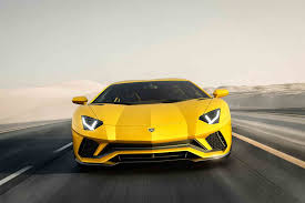 lamborghini back view first look 2017 lamborghini aventador s automobile magazine
