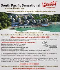 vanuatu real estate investment for sale on efate island 7 5
