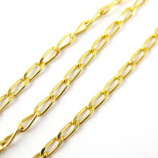 4mm diamond 22k gold plated sterling silver chain vermeil chain gold
