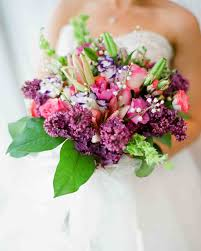 bouquets for wedding purple wedding bouquets martha stewart weddings