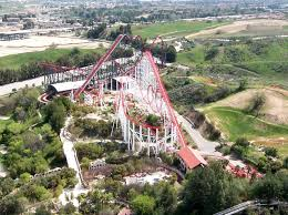 Six Flags New Jersery Six Flags Magic Mountain Valencia