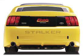 99 mustang bumper stalker bumper mustang 99 04 mustang rear bumper cervinis