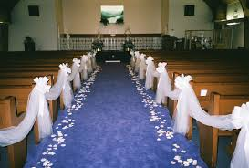 ideas for church wedding decorations church wedding decorations