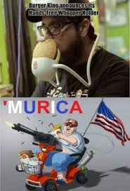 Merica Meme - merica meme fat guy in wheelchair image memes at relatably com