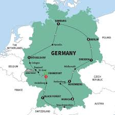 frankfurt on world map germany tours germany vacations trafalgar us