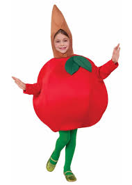 Big Kid Halloween Costumes Apple Fruit Big Girls Costume Girls Costumes Kids Halloween
