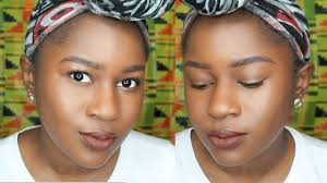 quick and simple everyday makeup tutorial for brown skin acne scar cov