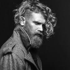 curly shaved side hair 50 long curly hairstyles for men manly tangled up cuts