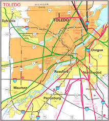 Ohio Map Us by Cities Rail All Pictures