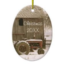 barn ornaments keepsake ornaments zazzle