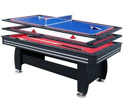 3 in one pool table air king triple master 7ft 3in1 deluxe games table pool tables