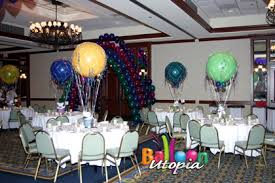 Balloon Centerpiece Ideas San Diego Bar Mitzvah Decorations By Balloon Utopia