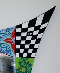 Flag Toms Toms Drag Spiegel Asymmetrisch L 100 Cm Decovista