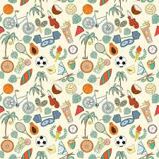 sports wrapping paper seamless sport pattern stock vector illustration of doodles 75105396
