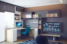 bureau d ado chambre ado au design déco sympa et original pc setup interior