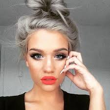 stylish hair color 2015 granny hair style the silver hair color for spring summer 2015