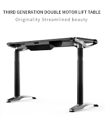 Ergonomic Sit Stand Desk Ergonomic Electric Height Adjustable Table Leg Sit Stand Desk