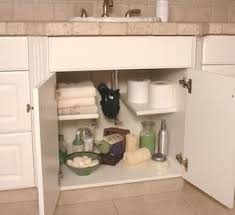 Best  Under Kitchen Sink Storage Ideas On Pinterest Bathroom - Kitchen sink shelves