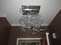 Glass Bubble Chandelier Modern Glass Bubble Chandelier U2013 Home Decoration Ideas How To