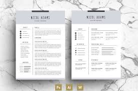 modern resume exle resume template 42 free word excel pdf psd format