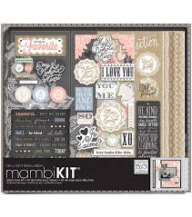 joann fabrics photo albums me my big ideas boxed album kit 12 x12 charm joann