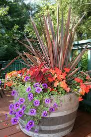 unusual garden ideas container garden ideas in wonderful front porch planters whiskey