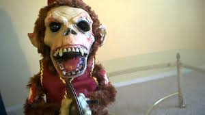 deady bear spirit halloween monkey chimes youtube
