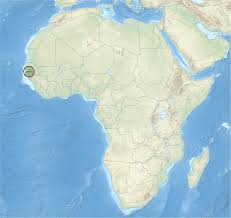 africa map gambia file gambia in africa relief special marker mini map svg