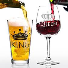 cool wine gifts king wine glass gift set cool present idea