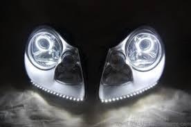 porsche cayenne headlights 2003 2006 porsche cayenne hid projector retrofit headlights