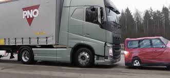 automatic volvo semi truck all heavy trucks should have crash avoidance braking systems by now