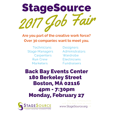 How To Prepare A Resume For A Job Fair by Stagesource Job Fair Stagesource