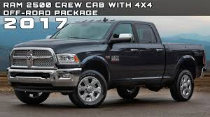 dodge truck package 2017 ram 2500 crew cab with 4x4 road package review rendered