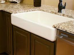 Kitchen Captivating Apron Sink For Modern Kitchen Decor - Fireclay apron front kitchen sink