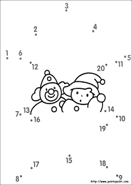 dot to dot worksheets with numbers for preschoolers beginner