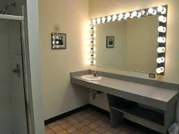 8x lighted vanity mirror wall mounted lighted makeup mirror 8x led mirrors by young mount