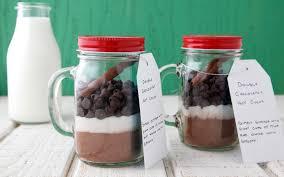 hot chocolate gift ideas diy chocolatey hot cocoa in a jar weelicious