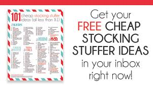Stocking Stuffers Ideas 101 Cheap Stocking Stuffer Ideas Passionate Penny Pincher