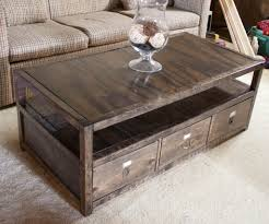Plans For Building A Wood Coffee Table by Rustic Pallet Coffee Table Or Storage Chest Jpg 720 852