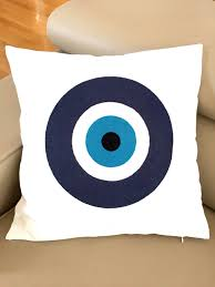evil eye throw pillow cover cushion cover home decor