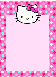 hello kitty photo birthday invitations vertabox com