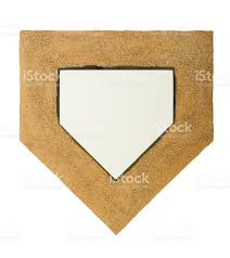 home plate and dirt on white background stock photo 480870831 istock