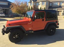 orange jeep wrangler 2006 jeep tj sport jeep wrangler tj forum