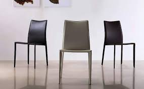 High Back Brown Leather Dining Chairs High Back Leather Dining Chairs U2014 Contemporary Homescontemporary Homes
