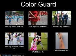Color Guard Memes - pin od pou緇祗vate箴a savannah hair na n磧stenke color guard